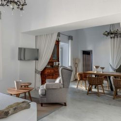Andromaches Luxury Houses in Pyrgos Village of Santorini island