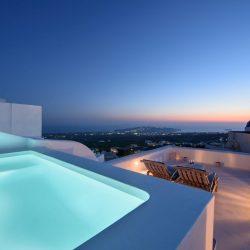 Sensation Villa in Pyrgos Village of Santorini Island by Senses Collection