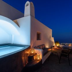 Adelle Villa of senses Luxury Villa in Pyrgos of Santorini island